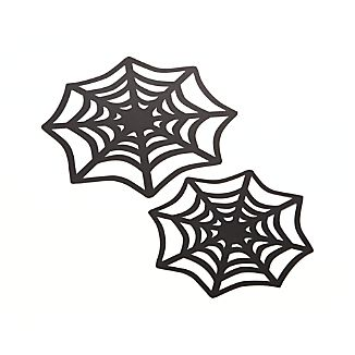 Spiderweb Doilies Set of 12