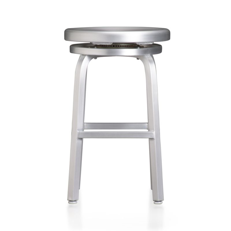 Spin Counter Stool in Bar Stools Crate and Barrel : SpinBarstool24Inch from www.crateandbarrel.com size 800 x 800 jpeg 17kB
