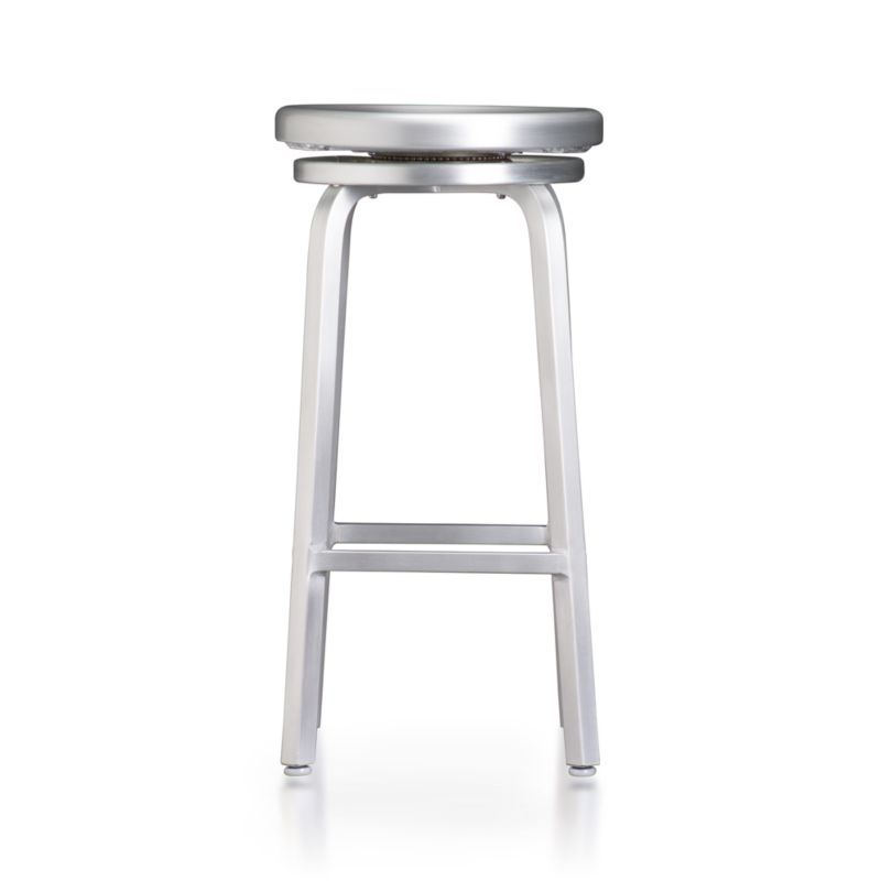 Spin Swivel Backless Bar Stool In Bar Stools Crate And