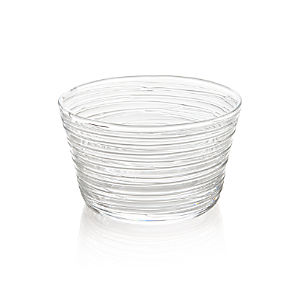 "Spin 5"" Glass Serving Bowl"