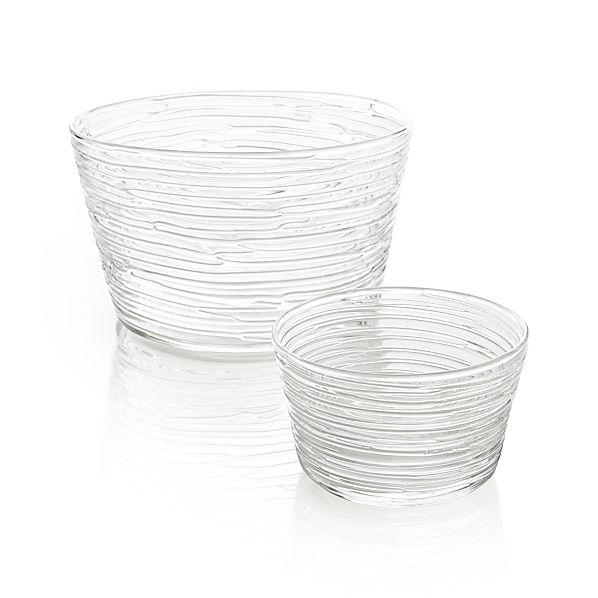Spin Serving Bowls
