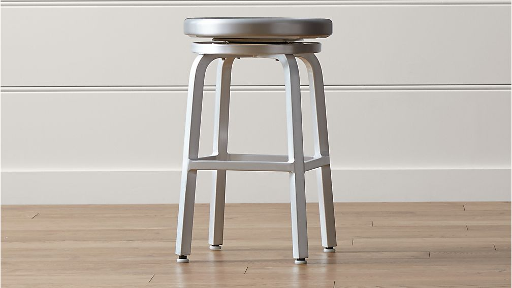 Spin Backless Counter Stool