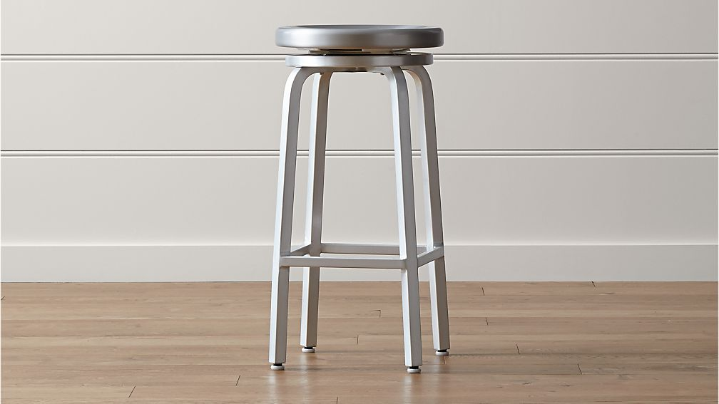 Spin Backless Bar Stool
