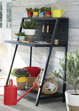 Garden tools planters accessories crate and barrel for Gardening tools nairobi