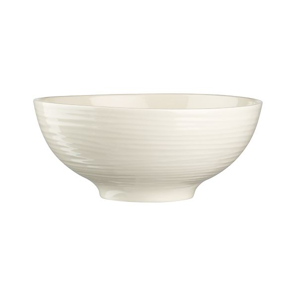 Spool Serving Bowl