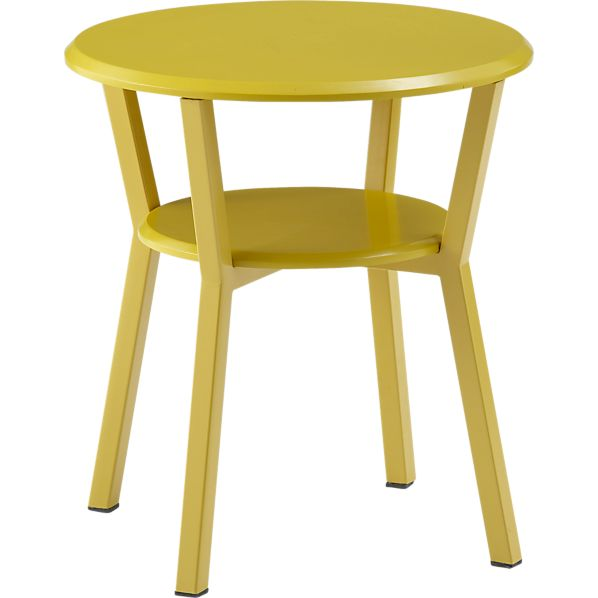 Spot Mustard Night Table