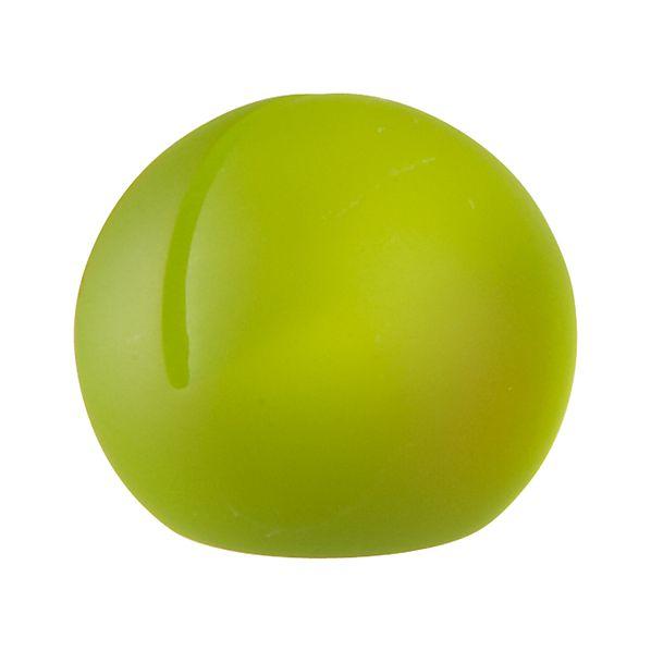 Spot Green Placecard Holder