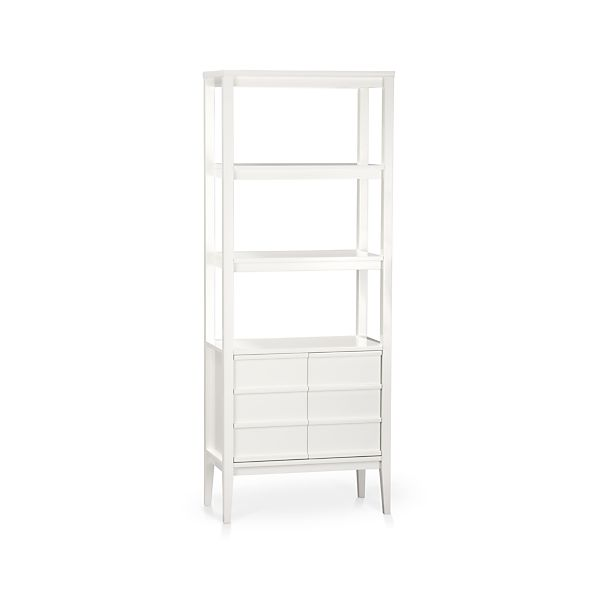 Image Result For Crate And Barrel Bookcase
