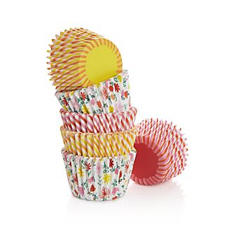 Spring Mini Cupcake Papers Set of 96