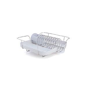 Polder® White Spring Dish Rack