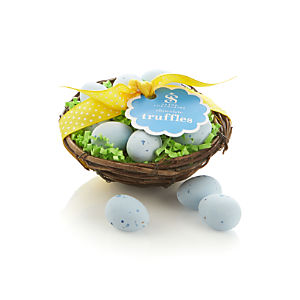 Saxon Chocolates Spring Nest with Truffle Eggs