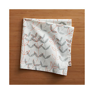 Sprout Orange Napkin