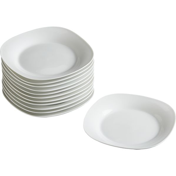 appetizer plates set of 12 crate and barrel
