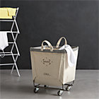 Steele® Square Canvas Bin.