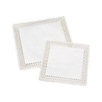 Square Doilies Set of 24