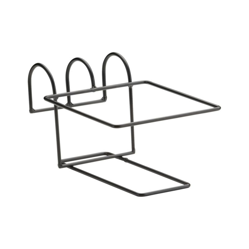 "Optional iron hook compliments our Zinc Square Planter and easily affixes to railings or fences up to 2.75"" wide.<br /><br /><NEWTAG/><ul><li>Iron with powdercoat finish</li><li>Accommodates rails up to 2.75"" wide</li><li>Made in Vietnam</li></ul>"