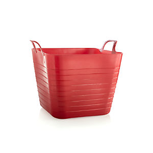 Red Square Trug