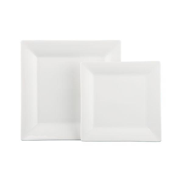 Square Rim Plates