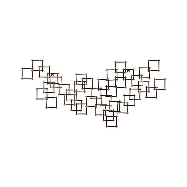 Squares Nail Wall Art
