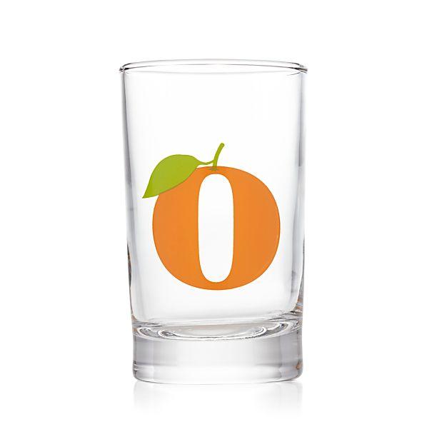 Squeeze Orange Juice Glass