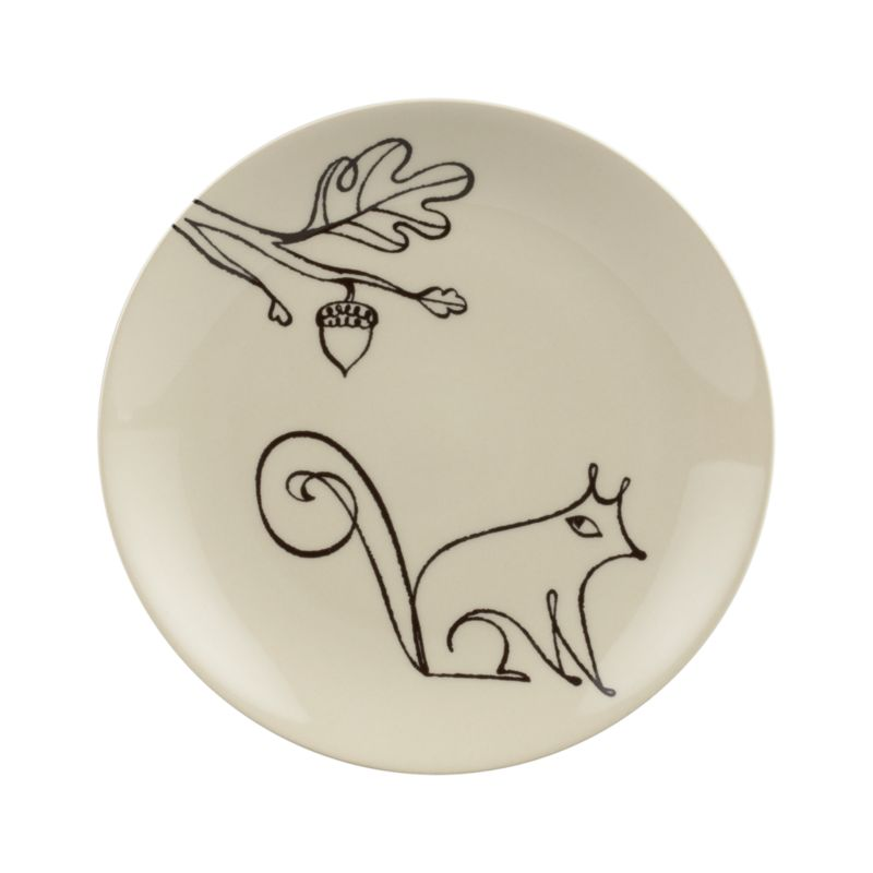 A freehand doodle elevated into artistry embellishes handmade stoneware in a whimsical dark-on-light design by noted artist Elvis Swift. Styled for special occasions, made durable for everyday use.<br /><br /><NEWTAG/><ul><li>Design by Elvis Swift</li><li>Handcrafted</li><li>Stoneware</li><li>Dishwasher- and microwave-safe</li><li>Made in Portugal</li></ul>