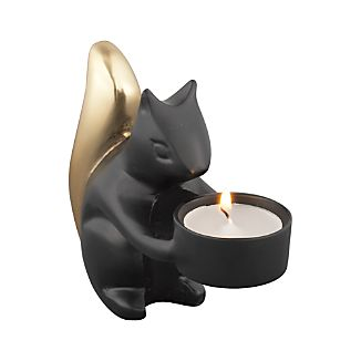 Squirrel Candle Holder