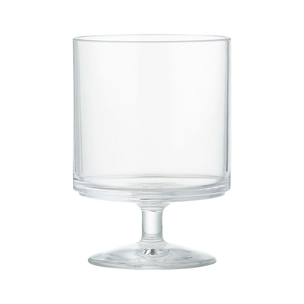 Set of 4 Acrylic Stacking Wine Glasses