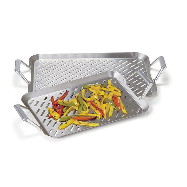Stainless Steel Handled Grill Grids