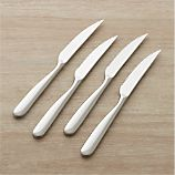 Set of 4 Stanton Mirror Steak Knives