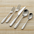Stanton Satin 20-Piece Flatware Set: four 5-piece place settings.