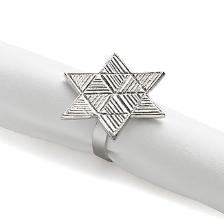 Star of David Napkin Ring