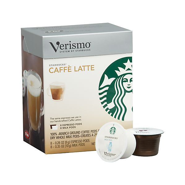 Starbucks® Verismo® Caffè Latte Pods