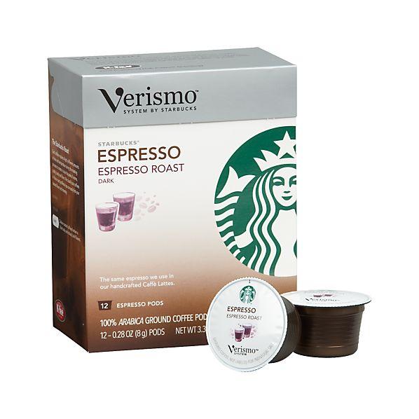 Starbucks ® Verismo ® Espresso Pods