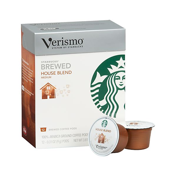 Starbucks® Verismo® House Blend Coffee Pods