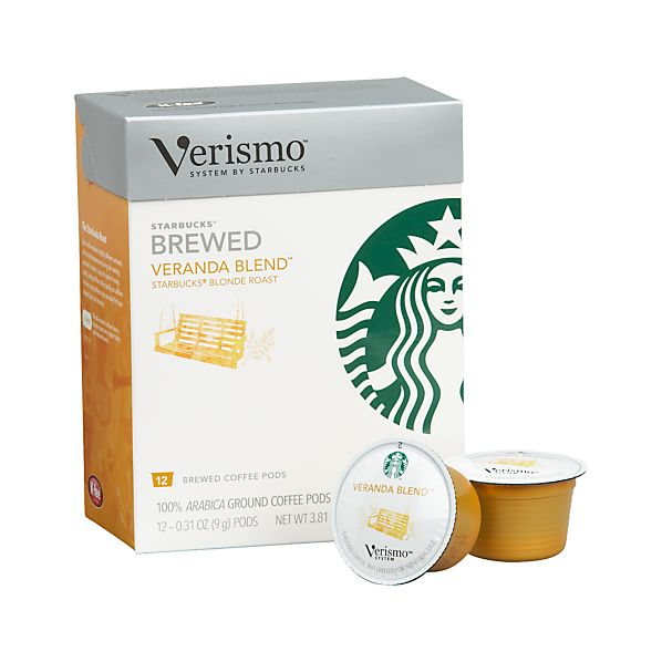 Starbucks® Verismo® Veranda Blend™ Coffee Pods