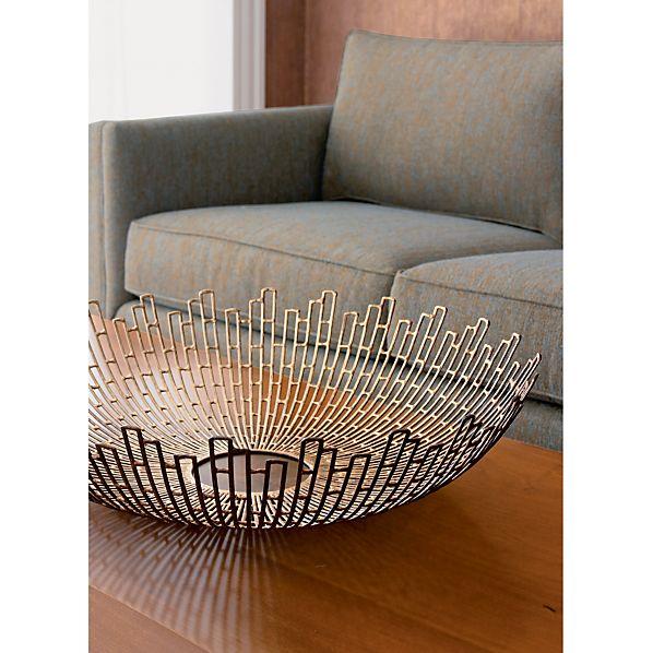 starburst bowl crate and barrel. Black Bedroom Furniture Sets. Home Design Ideas