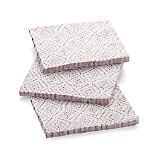 Set of 20 Starburst White Paper Lunch Napkins