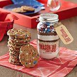 Mason Jar Stars & Stripes Cookie Mix