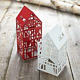 Steel Laser Cut Houses