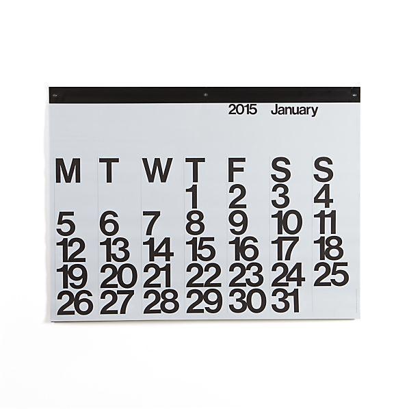 Stendig Wall Calendar 2015
