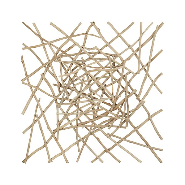 Sticks Wood Wall Art