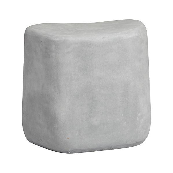 Tall Stone Stool