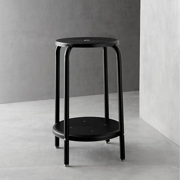 "Cramer® Black 24"" Stool"
