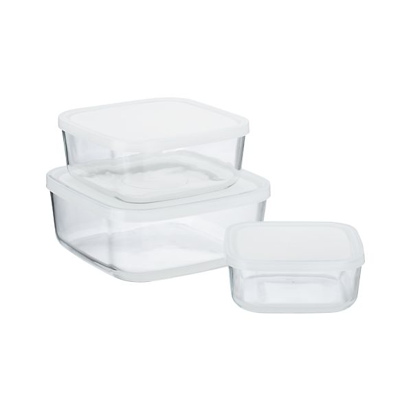 3-Piece Storage Container Set