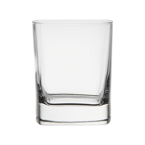 Set of 4 Strauss Double Old-Fashioned Glasses