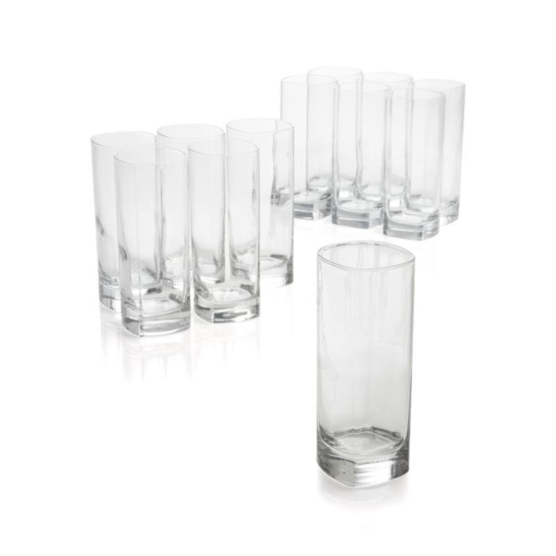 Set of 12 Strauss Cooler Glasses