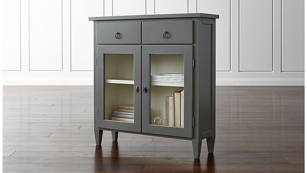 Stretto entryway cabinet in chests amp cabinets crate and barrel