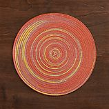 Stria Orange Placemat