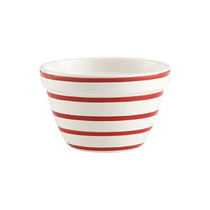 Striped Individual Bowl