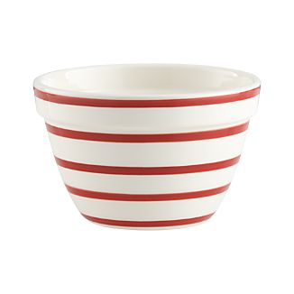 Striped Individual Bowl